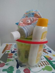 Die Kunst Plastikmüll mit Kindern zu reduzieren
